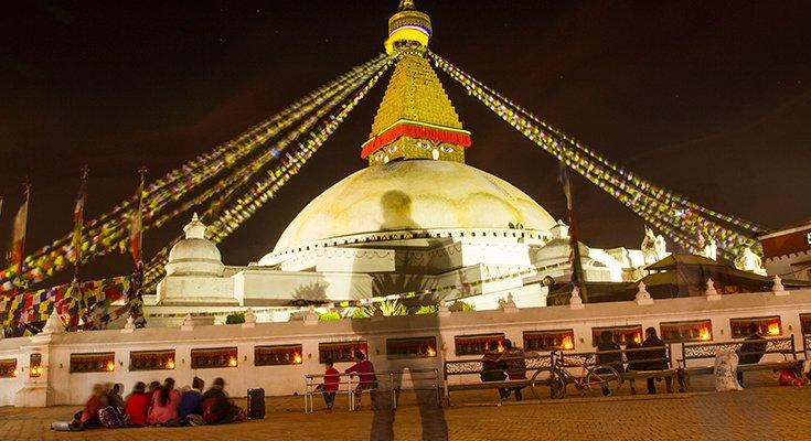 Mahabaudha Night Image