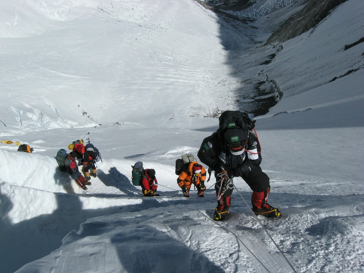 Everest expedition in spring season